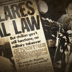 When life gives you lemons: Martial Law