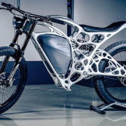 """Light Rider"" : world's first 3-D printed motorcycle"