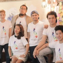 Iloilo Pride Team and Bahaghari National LGBT Organization Shirts