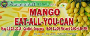 eat all you can mangoes guimaras manggahan festival 2015